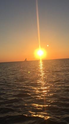 The killer sunset cruise