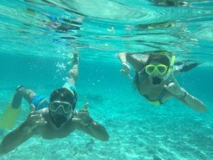 Snorkeling in Caye Caulker
